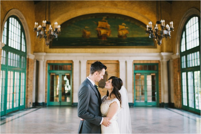 Laura & Bobby | Columbus Park Refectory | Cheney Mansion