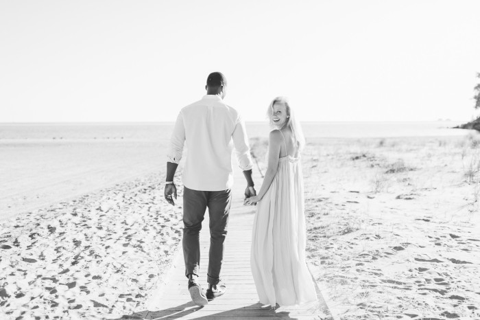 Elizabeth & Laird | Beach Engagement Session