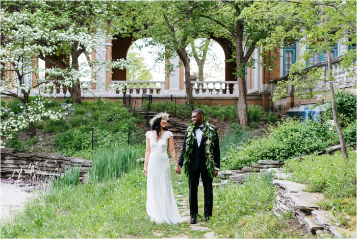 Chicago Wedding at Columbus Park Refectory | Denise and Hugh