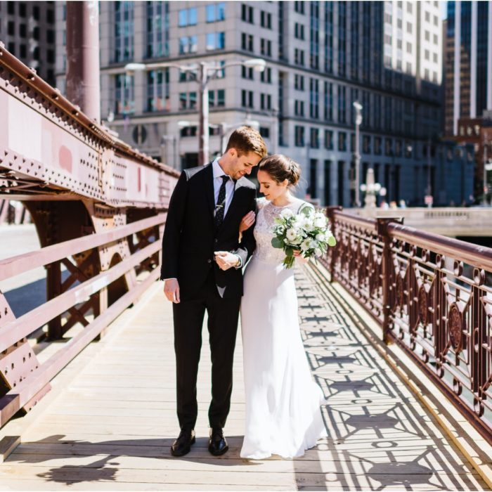 Greenhouse Loft Wedding in Chicago | Kyle and Kelly