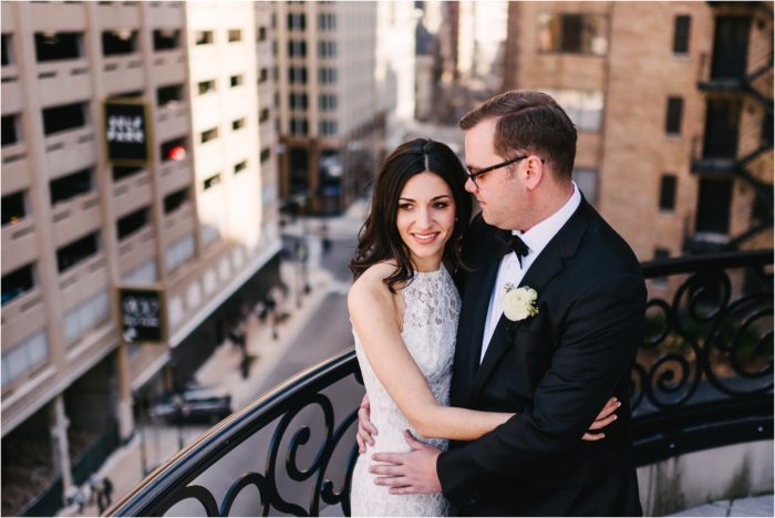 Intimate Wedding at The Boarding House Chicago | Brian & Natalie
