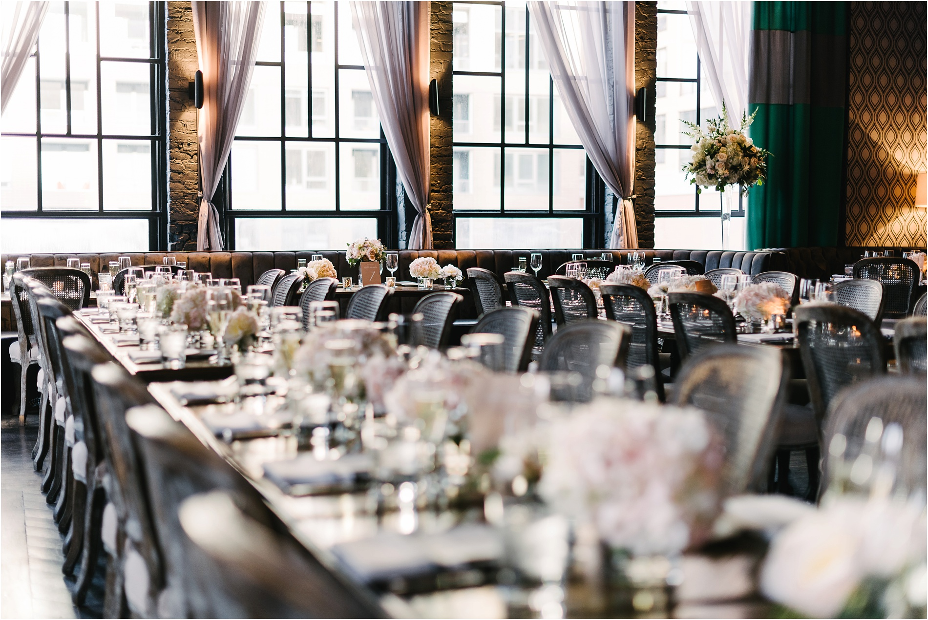 Patina restaurant wedding