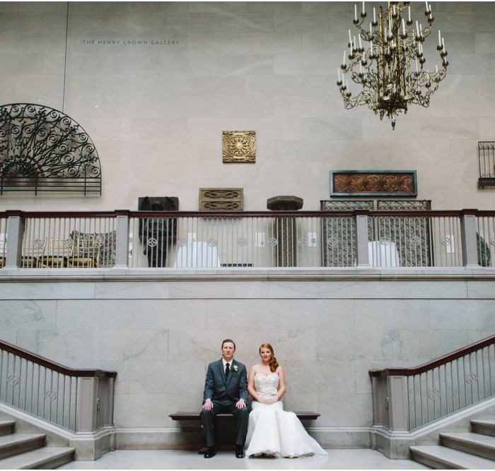 Lauren and Michael | Wedding at The Art Institute of Chicago